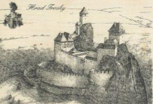 hrad-trosky-dobovy-vzhled-penzion-recall-ubytovani-cesky-raj