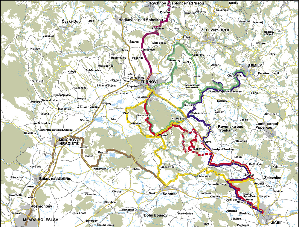 mapa-cyklobusy-cesky-raj-penzion-recall