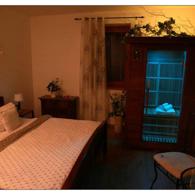 Přínosy infrasauny – privátní sauna a vířivka v Penzionu Recall